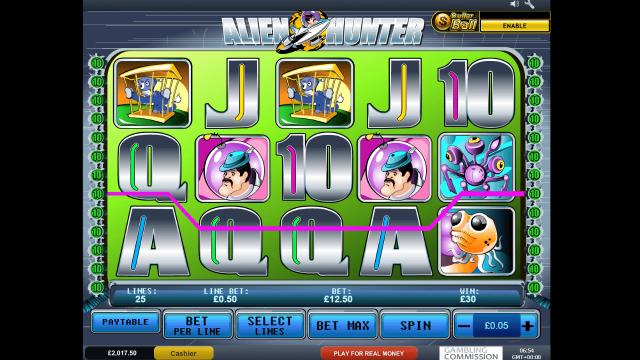 Бонусная игра Alien Hunter 3