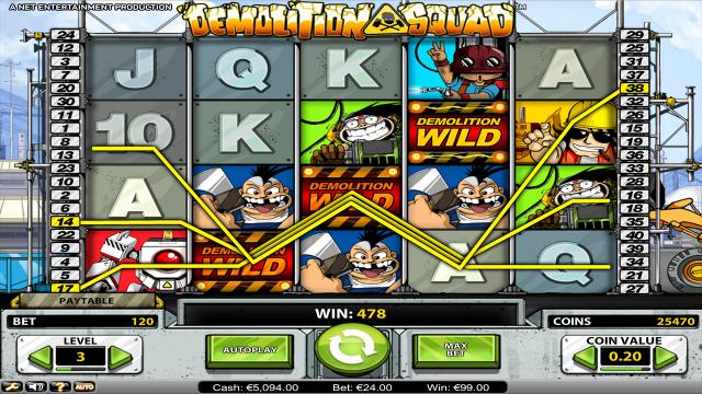 Игровой интерфейс Demolition Squad 8