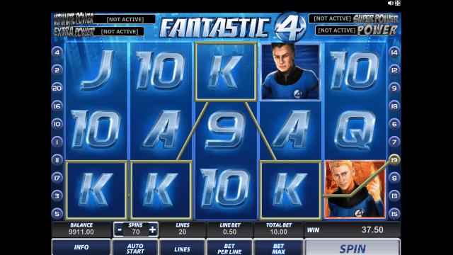 Бонусная игра Fantastic Four 14
