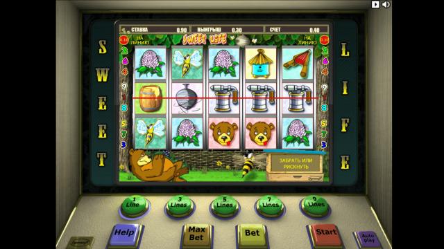 Игровой интерфейс Sweet Life 9