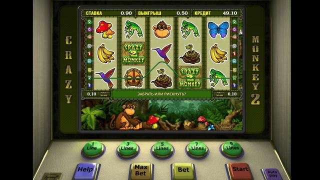 Игровой интерфейс Crazy Monkey 2 7