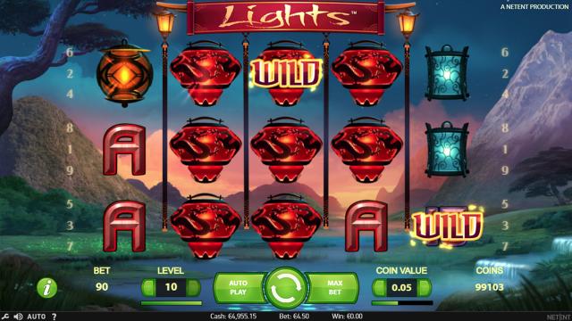 Бонусная игра Lights 4