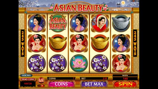 Игровой интерфейс Asian Beauty 7