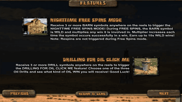 Игровой интерфейс Black Gold 4