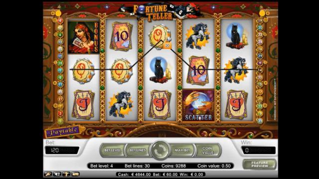 Бонусная игра Fortune Teller 4