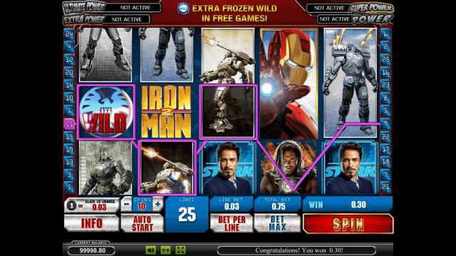Бонусная игра Iron Man 2 2