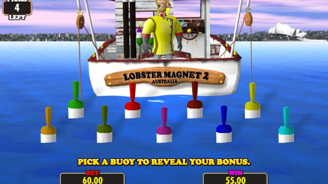 Игровой интерфейс Lucky Larry's Lobstermania 2 16