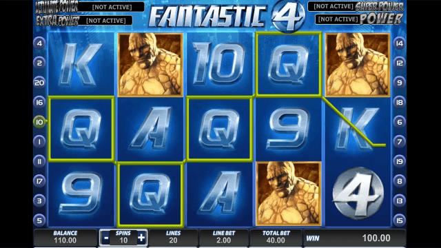 Игровой интерфейс Fantastic Four 8