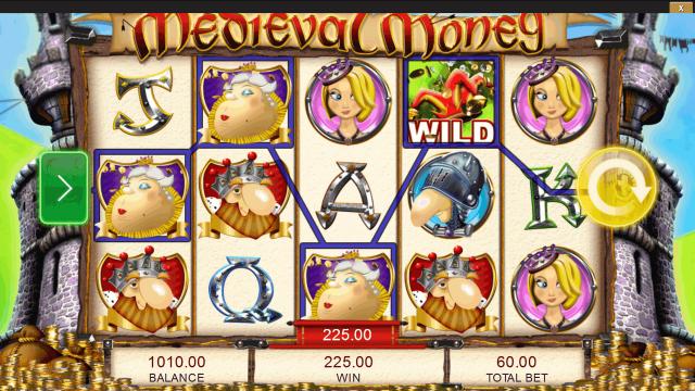 Игровой интерфейс Medieval Money 3