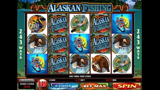 Характеристики слота Alaskan Fishing 7