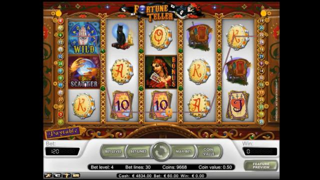 Бонусная игра Fortune Teller 2