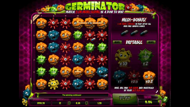 Бонусная игра Germinator 2