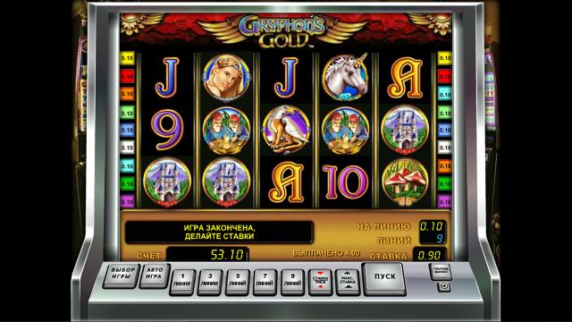 Игровой интерфейс Gryphon's Gold 2