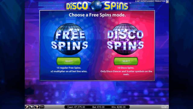 Бонусная игра Disco Spins 6