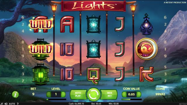 Бонусная игра Lights 7