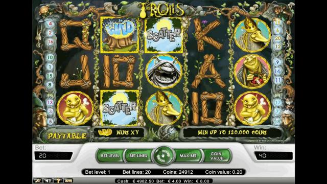 Бонусная игра Trolls 4