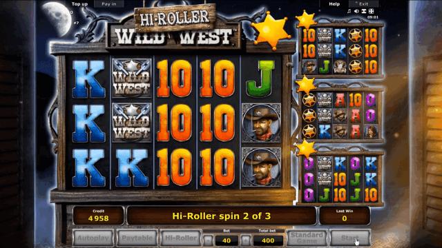 Характеристики слота Wild West 8