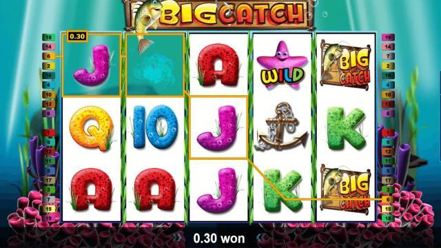 Игровой интерфейс Big Catch 7