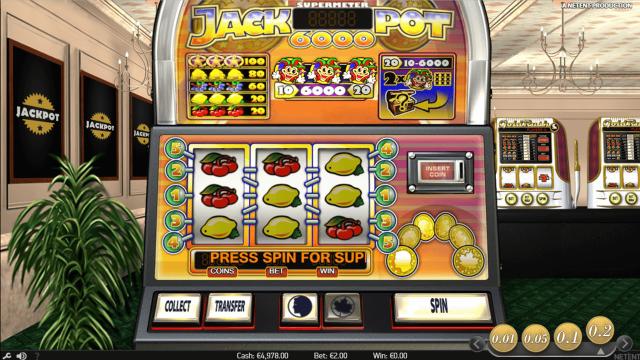 Бонусная игра Jackpot 6000 10