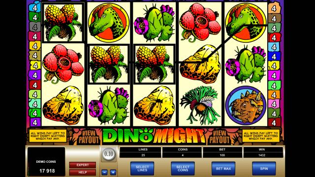 Игровой интерфейс Dino Might 8