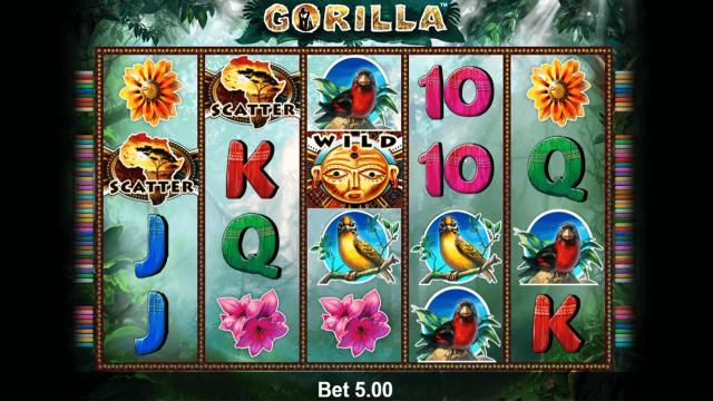 Характеристики слота Gorilla 10