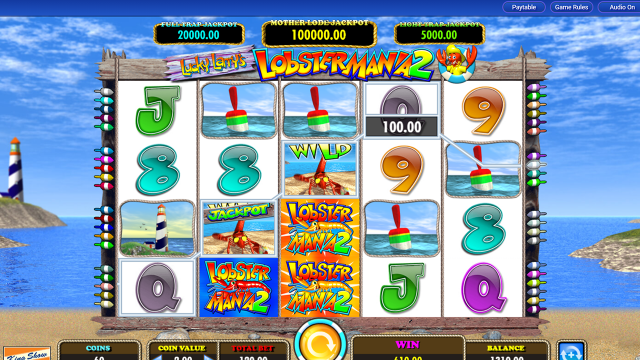 Бонусная игра Lucky Larry's Lobstermania 2 12