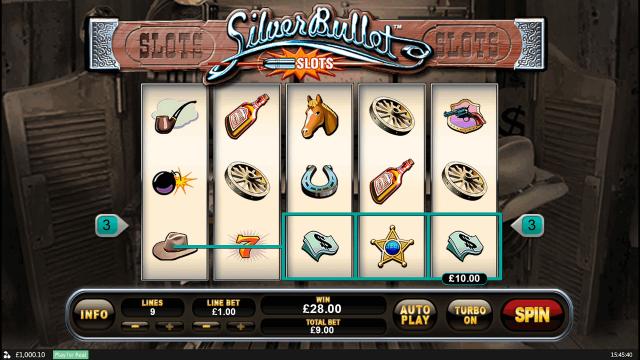 Игровой интерфейс Silver Bullet 10