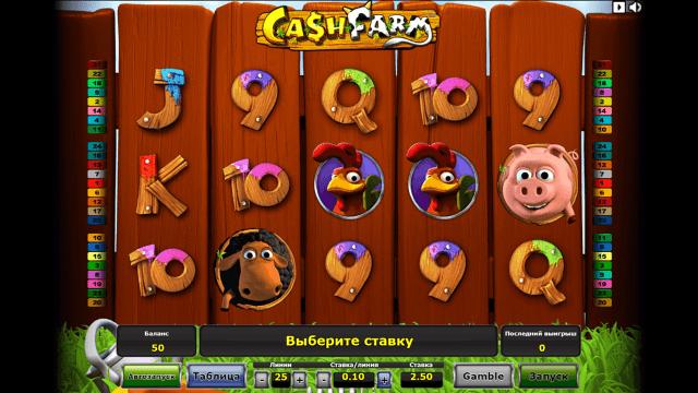 Бонусная игра Cash Farm 3