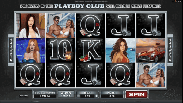Игровой интерфейс Playboy 8