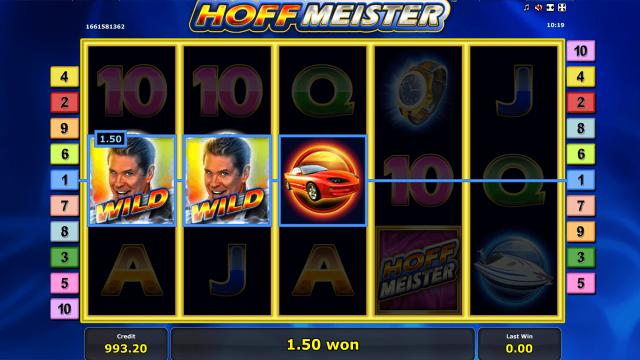 Игровой интерфейс Hoffmeister 5