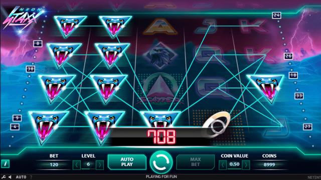 Игровой интерфейс Neon Staxx 10