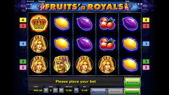 Бонусная игра Fruits And Royals 4