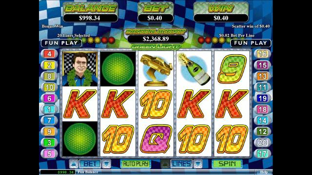Игровой интерфейс Green Light 1