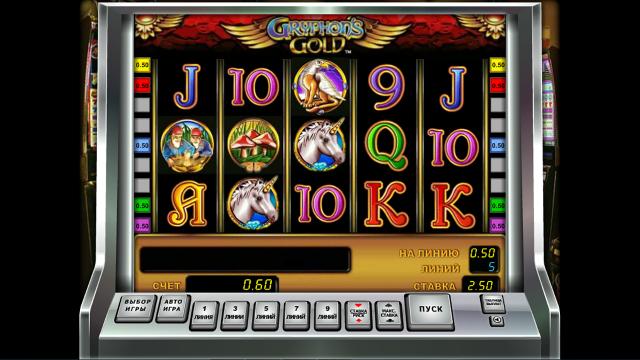 Игровой интерфейс Gryphon's Gold 9