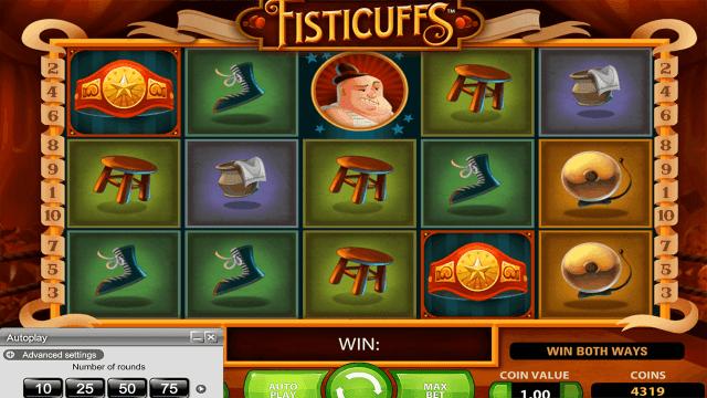 Характеристики слота Fisticuffs 3