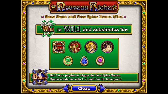 Бонусная игра Nouveau Riche 4