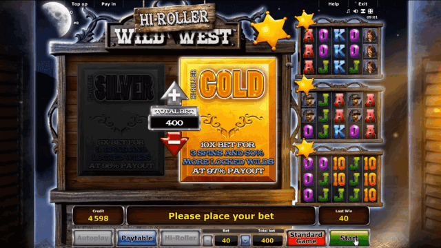 Бонусная игра Wild West 10