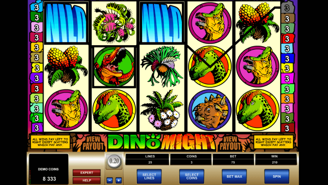 Игровой интерфейс Dino Might 5