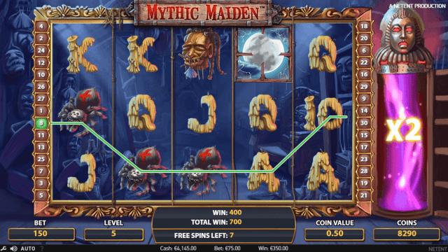 Игровой интерфейс Mythic Maiden 10