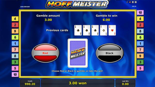 Игровой интерфейс Hoffmeister 9
