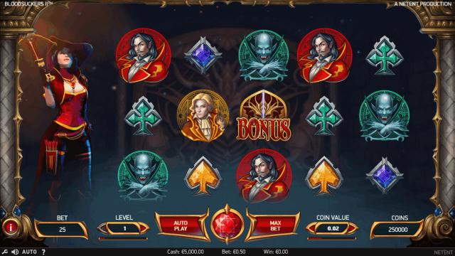 Игровой интерфейс Blood Suckers II 1