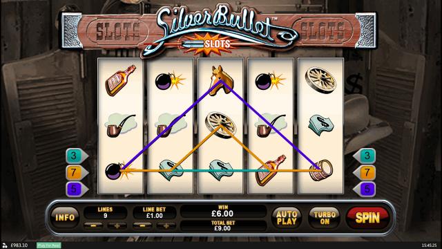 Игровой интерфейс Silver Bullet 8
