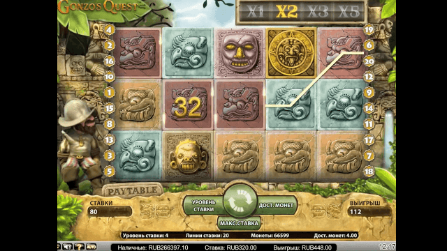 Характеристики слота Gonzo's Quest Extreme 2