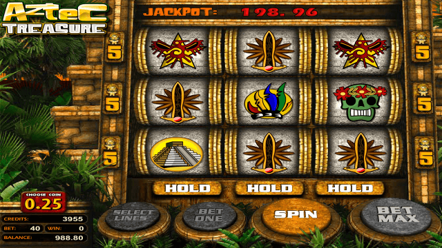 Бонусная игра Aztec Treasure 2D 3