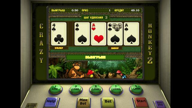 Игровой интерфейс Crazy Monkey 2 8