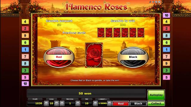 Характеристики слота Flamenco Roses 5