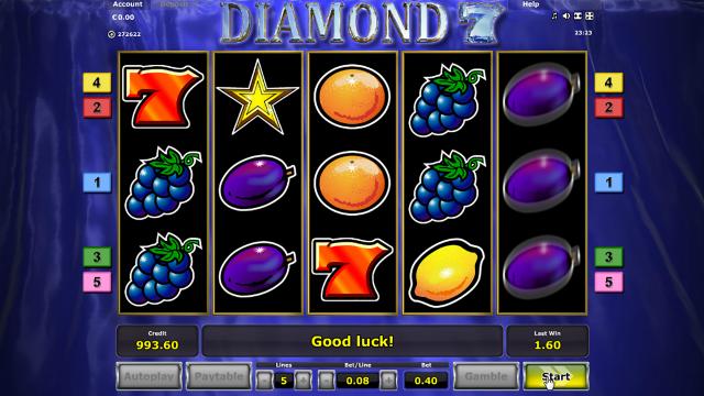 Игровой интерфейс Diamond 7 4