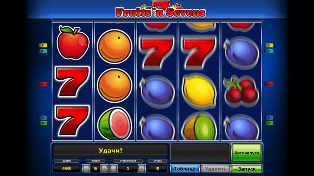 Характеристики слота Fruits' N Sevens 4