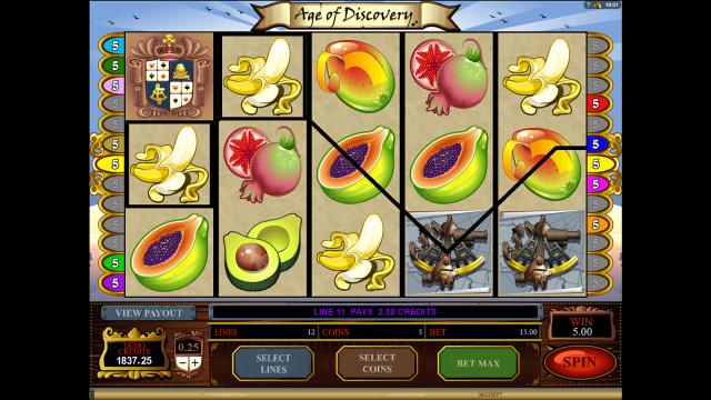 Игровой интерфейс Age Of Discovery 5