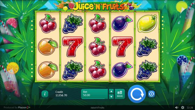 Игровой интерфейс Juice 'N' Fruits 9